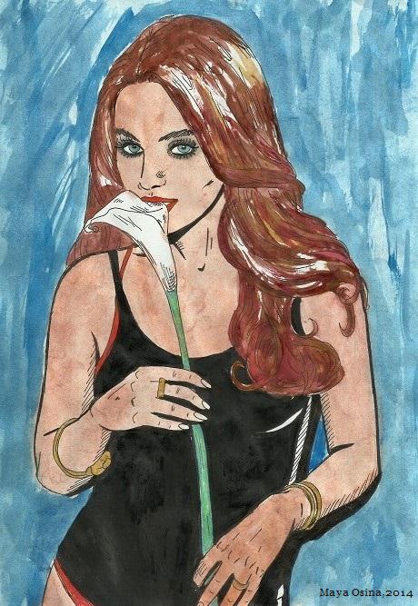 Mila Kunis by MayaOsina